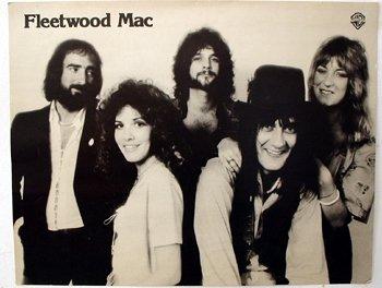 1027: 1027 - Fleetwood Mac, Warner Bros. promo post