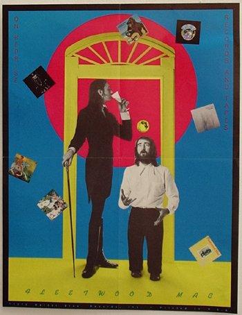1028: 1028- Fleetwood Mac / Warner Bros. poster