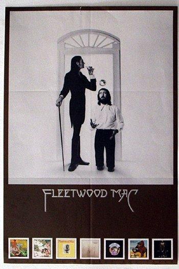 1029: 1029 - Fleetwood Mac Reprise in-store poster