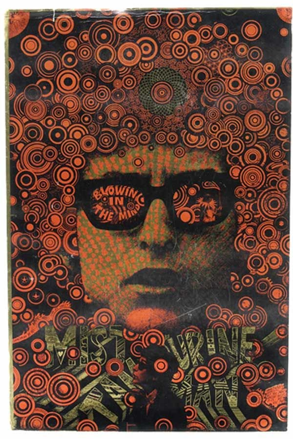 2: 2 - Martin Sharp Bob Dylan poster, 1967 - NO RESERVE