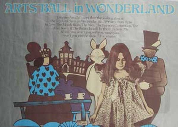 9: 9 -Moody Blues Arts Ball In Wonderland poster