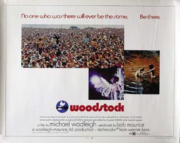 23: 23 - Proof film poster for the film Woodstock