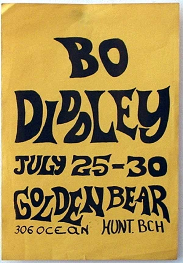 24: 24 - Eleven Bo Diddley concert posters