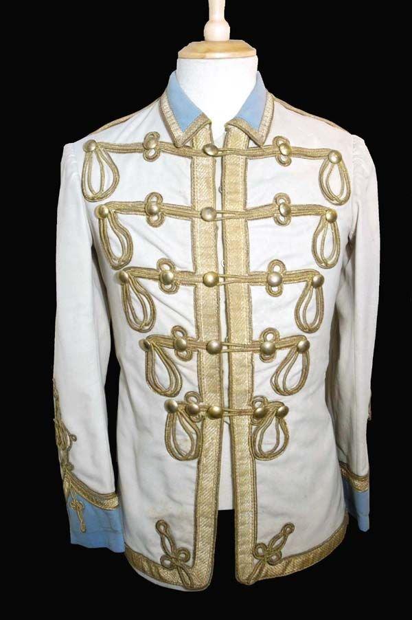 205: 205 - John Lennon worn Military/Band Tunic