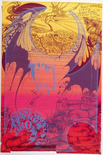 3: Arthur Brown Hapshash poster