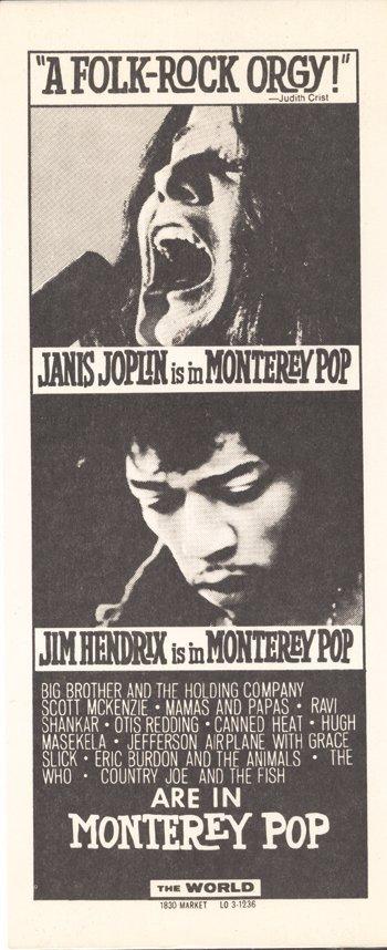 6: Montery Pop flyer