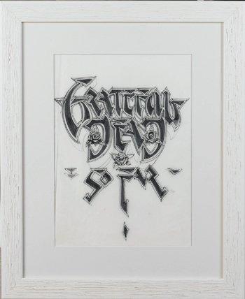 16: Grateful Dead logo artwork, Rick Griffin.