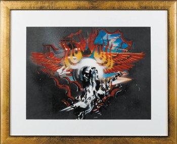 19: Grateful Dead Winged Eyeball artwork, Rick Griffin
