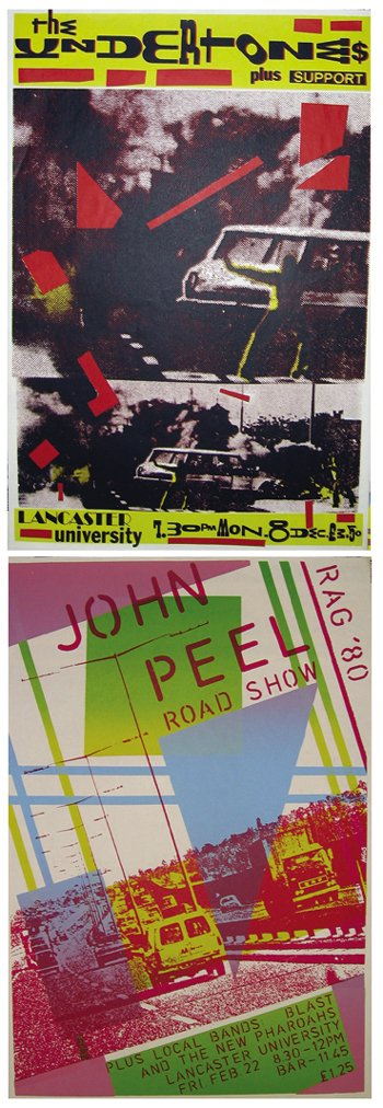 24: The Undertones  / John Peel posters (2)