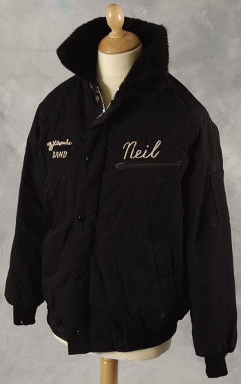 34: Neil Murray Original Whitesnake crew jacket