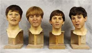 †: Set of original Madame Tussauds waxwork heads
