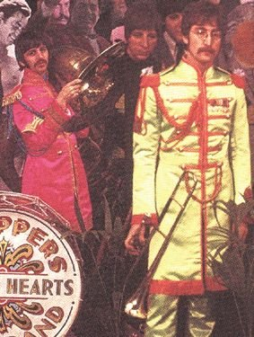 273†: The Beatles waxwork heads from Sgt Peppers' cover - 7