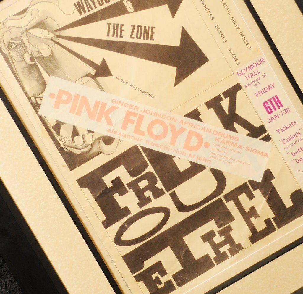 Pink Floyd: 'Freak Out Ethel' Seymour Hall concert