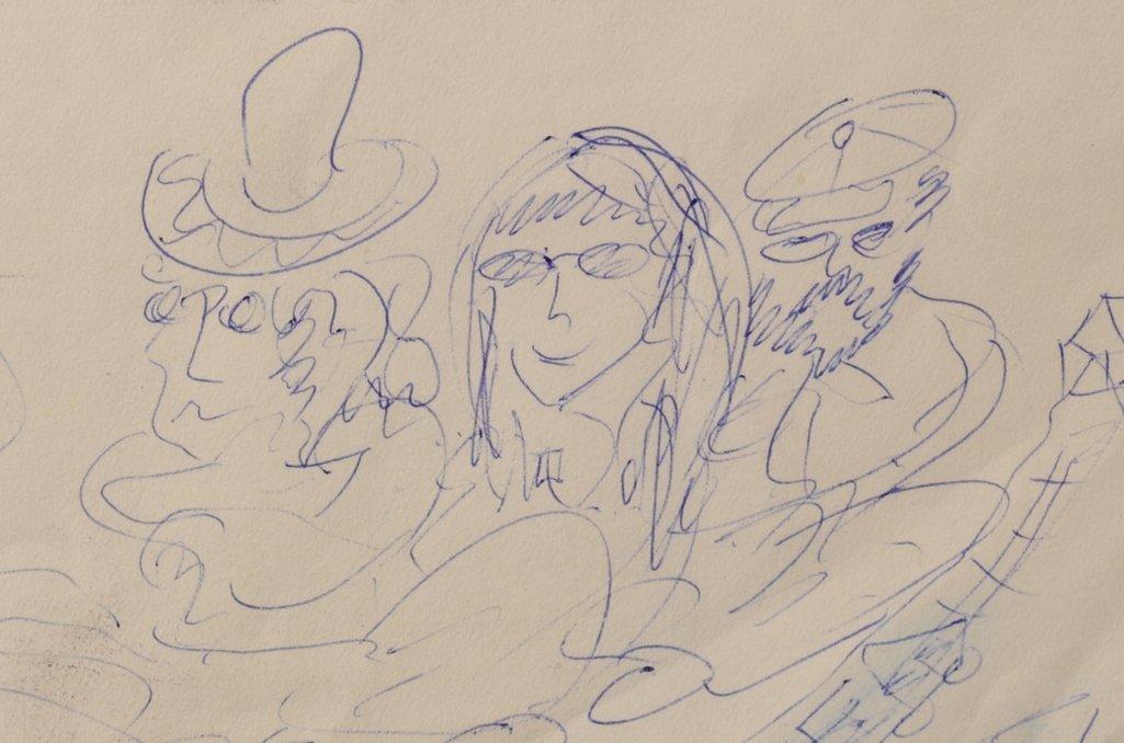 The Beatles / John Lennon: original ballpoint pen