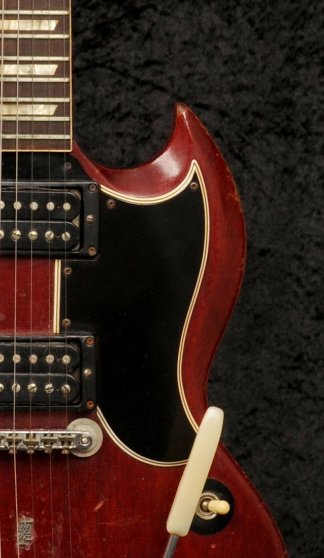 Link Wray: a stage-played guitar made by Gibson circa