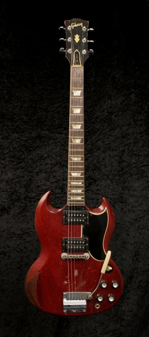 Link Wray: a stage-played guitar made by Gibson circa - 2