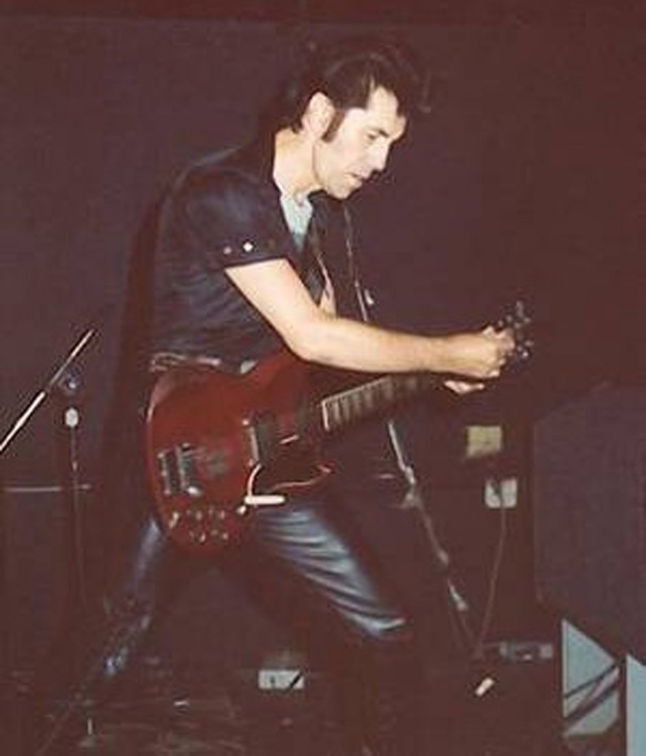 Link Wray: a stage-played guitar made by Gibson circa - 4