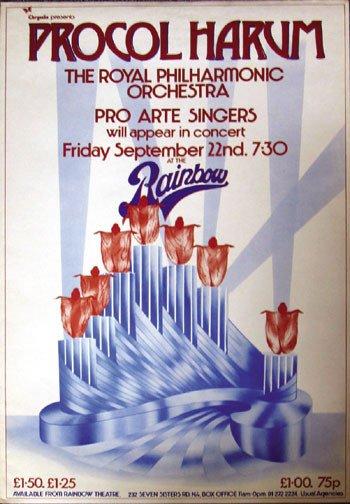 4: Procol Harum concert poster