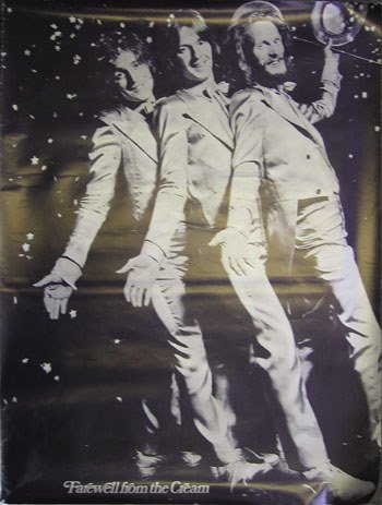 11: Farewell From The Cream' large poster