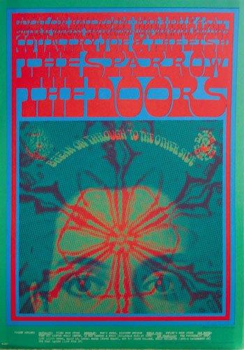 13: Doors Avalon Ballroom poster, 2nd printing