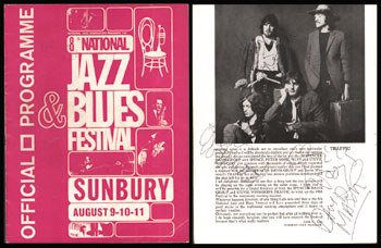 19:Traffic/Spencer Davis signed 1968 Jazz/Blues program