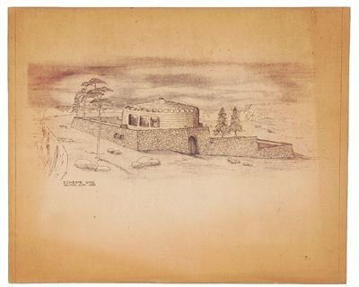 124: John Lennon drawings and architects plans - 3