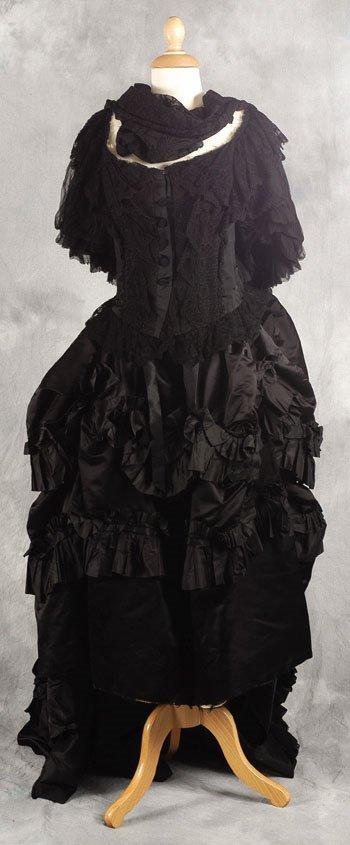 187: Queen Victoria bodice, skirt and underskirt