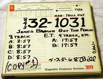 1007: James Brown Master Tape