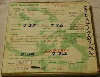 1014: Bo Diddley Master Tape