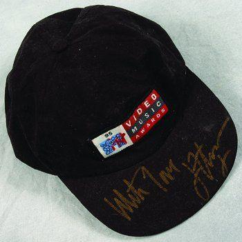 1032: Elton John MTV awards signed hat