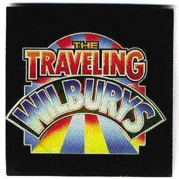 1087: Traveling Wilbury's Promo Sticker Patch