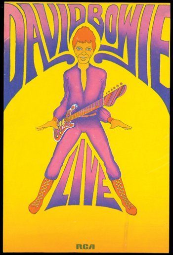 1: David Bowie RCA promo poster