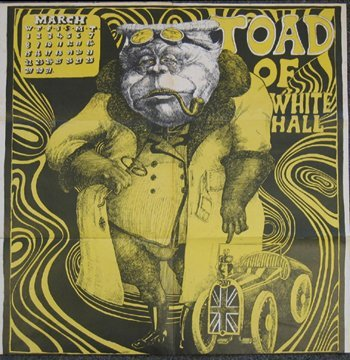2: Oz Magazine Martin Sharp 'Toad of Toad Hall' poster