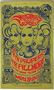 8: Five concert posters BGP, Family Dog and others, 196