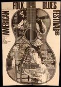 9: American Folk & Blues Festival poster-Gunther Kieser