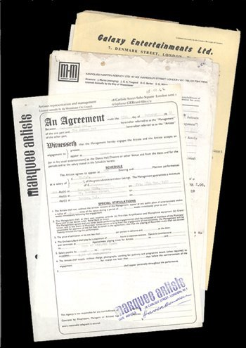11: Original Marquee Club performance contracts
