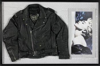 20: Madonna Leather Jacket
