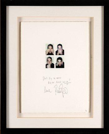 23: Robbie Williams signed Ltd Ed artwork