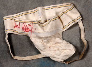 24: Robbie Williams owned and signed jock strap!!