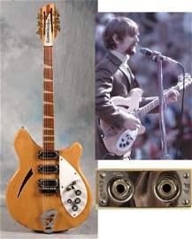 72: Byrds Roger McGuinn's custom 1966 Rickenbacker