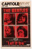 217: Bealtes 'Let It Be' / 'Help' posters w/ lobby card