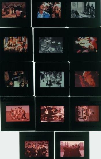 1006: Beatles/Hendrix/Stones photographic slides