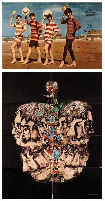 1009: The Beatles Reville and Apple Tree posters