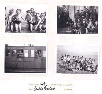 1012: John Lennon - four Ltd Ed school boy photos