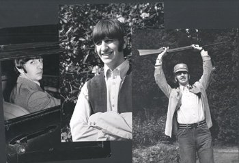 1017: Four Ringo Starr photographs, by Leslie Bryce