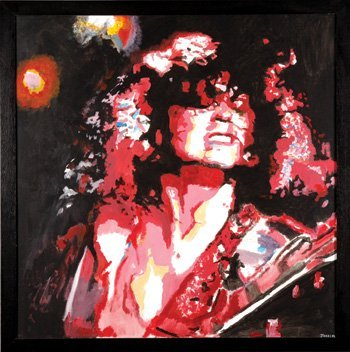 1018: Marc Bolan original painting by James Wilkinson