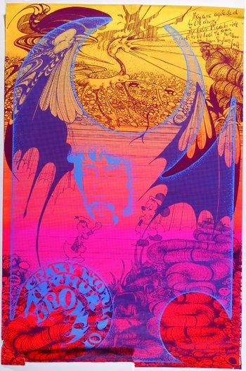 1020: Arthur Brown Hapshash poster