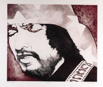 1024: Bob Dylan David Oxtoby proof print