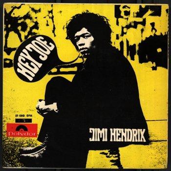 3006: Jimi Hendrix 'Hey Joe' EP Spain '67