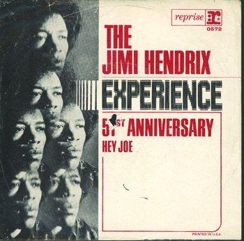 3007: Jimi Hendrix - 51st Anniversary 'Hey Joe' sleeve